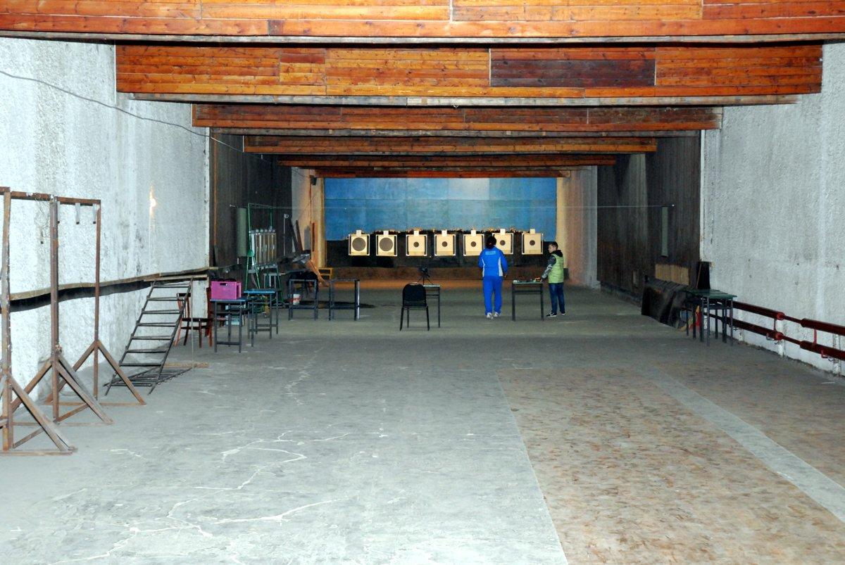 Стрелковая галерея 50 м.