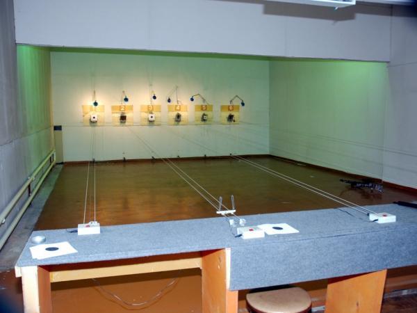 Стрелковая галерея 10 м.
